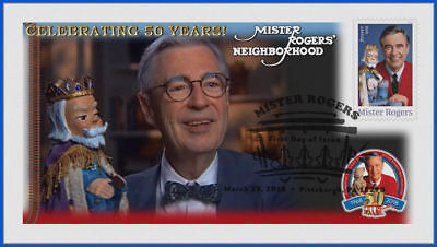Fred Rogers and Mister Rogers Neighborhood (5275) - USPS First Day Cover #006