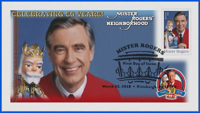 Fred Rogers and Mister Rogers Neighborhood (5275) - USPS First Day Cover #003