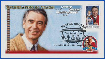 Fred Rogers and Mister Rogers Neighborhood (5275) - USPS First Day Cover #015
