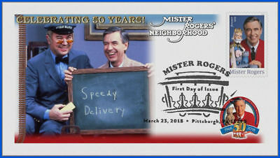 Fred Rogers and Mister Rogers Neighborhood (5275) - USPS First Day Cover #008