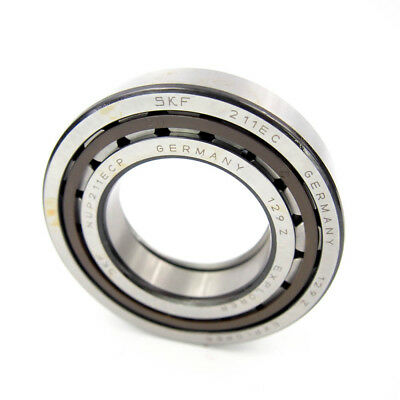 SKF NUP 211 ECP Cylindrical Roller Bearing Straight 55mm ID x 100mm OD x 21mm W