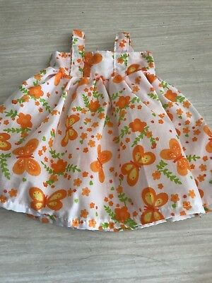 dolls clothes for baby born or cabbage patch doll 43 cm  sun dress