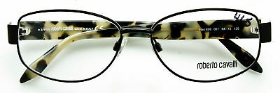 8639e2363a ROBERTO CAVALLI Eyeglasses Frame HAO 699 001 Black Metal Multi-Color Temple  54mm
