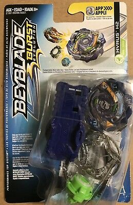 BEYBLADE BURST Evolution STARTER Pack HYRUS H2 D25/TD03 Wave 8 Hasbro IN STOCK