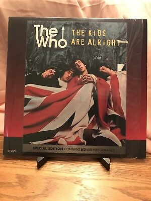 THE WHO The Kids Are Alright LaserDisc Special Edition