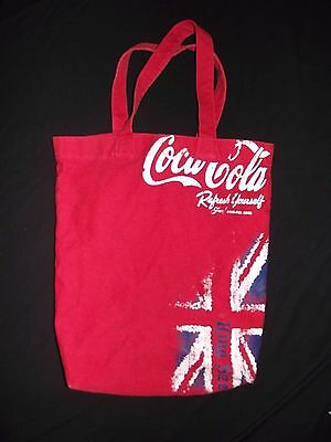 Coca Cola King Size Tote Bag Euc