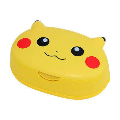 Japanese Wet Tissue Case Container POKEMON PIKACHU  From JAPAN