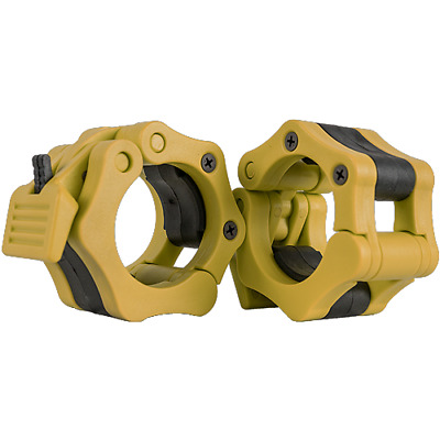 Barbell Lock Collar- YELLOW Harris Stability Systems