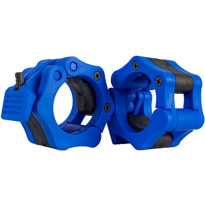 Barbell Lock Collar- BLUE Harris Stability Systems