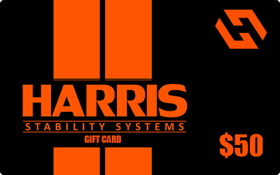 $50 Harris Stability Systems Gift Card Harris Stability Systems