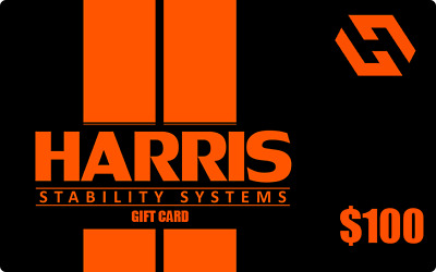 $100 Harris Stability Systems Gift Card Harris Stability Systems