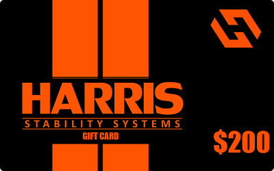 $200 Harris Stability Systems Gift Card Harris Stability Systems