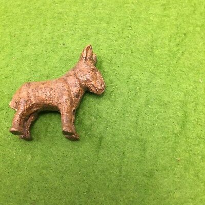 Vintage California Death Valley Buro Donkey  Figurine Toy Souvenir