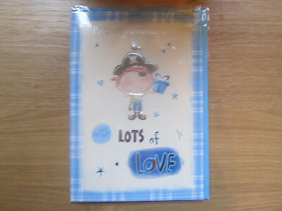 SEALED HAPPY BIRTHDAY Wishes Son Greeting Card Pirate Lots of Love