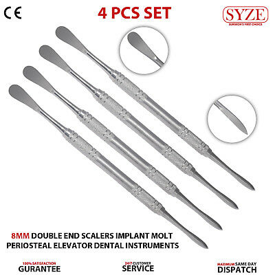 Dental Periosteal Elevator Molt 9 Surgical Implant Instruments Surgery Tools NEW