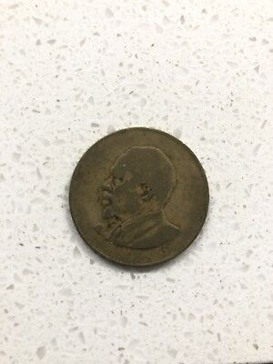1966 Republic Of Kenya Coin 10 CENT