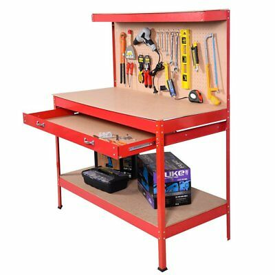 Terrific Tool Boxes Home Furniture Diy Garage Work Bench Table Squirreltailoven Fun Painted Chair Ideas Images Squirreltailovenorg
