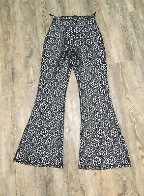 Vintage Womens Lace Flares Size 8