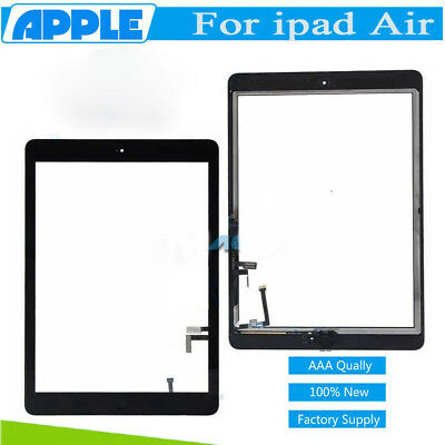 For iPad Air 5/ iPad A1474 A1475 Touch Screen Glass Digitizer Replacement Button