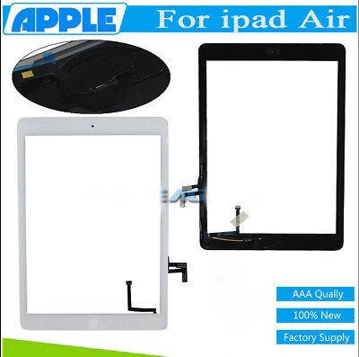 Touch Screen Replacement Digitizer For iPad Air 1 A1474 A1475 A1476 Home Button#