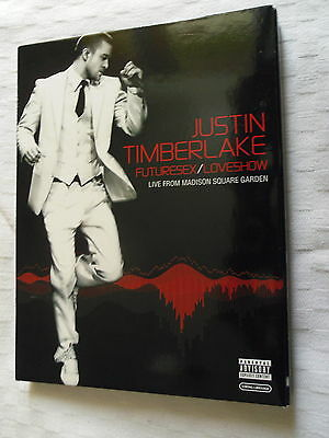 Dvd   Musical  Justin Timberlake Futuresex/loveshow   Live From  Madison Square.