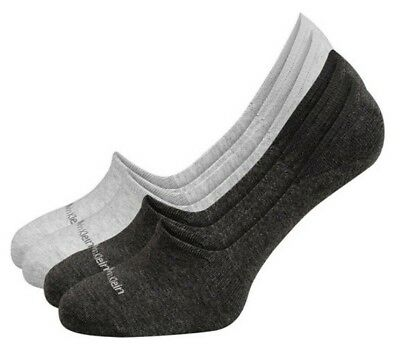 No Show Invisible Cotton Socks Calvin Klein Women's Men's silicone grippers