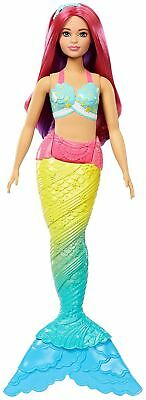 Barbie FJC93 Fantasy Rainbow Cove Mermaid Caucasian Curvy Dreamtopia Doll