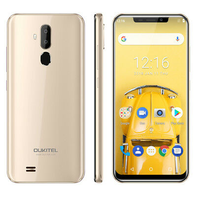 Oukitel C12 Pro 2GB+16GB Android8.1 4G Smartphone Face ID Móvil Libre 3300mAh ES