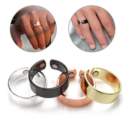 Magnetic Copper Ring Magnet Bio Healing Cuff Arthritis Pain Relief