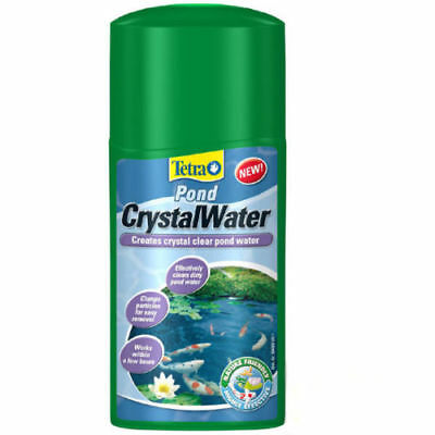 Tetra Pond Crystal Water Pond Treatment Clears Cloudy Green Water
