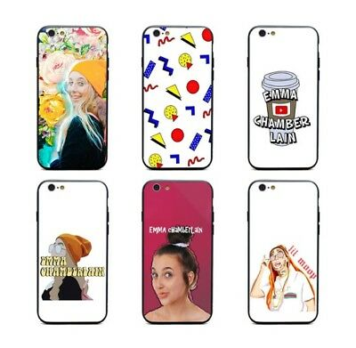emma chamberlain Silicone Case iPhone X XS Max XR Max 8 7 6 Plus 5 Youtube star