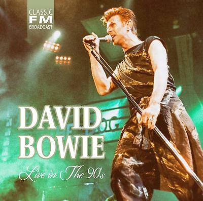 DAVID BOWIE 'LIVE IN THE 90s' CD (22nd February 2019)