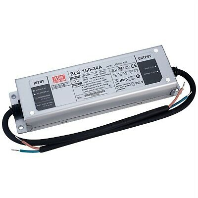 Mean Well ELG-150-24A Constant Voltage & Constant Current LED PSU 24V 6.25A 150W