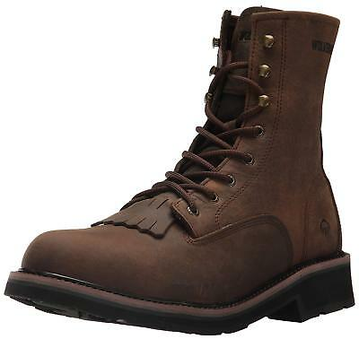d2f59dfd652 WOLVERINE MEN'S RANCHERO Soft-Toe Wellington Construction Boot ...