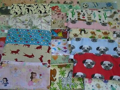 Pencil Cases Or Small Make Up Case *Over 30 Designs* Pencils Pens Stationery New