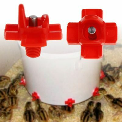 Chicken Feeder Automatic Drinking Devices Farm Poultry Water Drinker Supplies