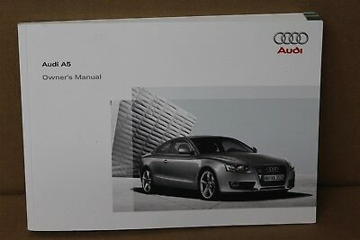 Audi A5 Coupe Sportback 2007 Owners Handbook 20082825618T320 New Genuine VW part