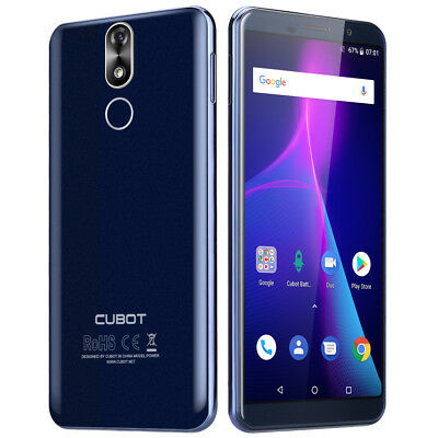 "Cubot Power 6+128GB 5.99"" FHD+ Móvil Octa Core Android 8.1 6000mAh 4G Smartphone"