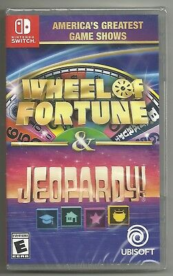 America's Greatest Game Shows Wheel of Fortune & Jeopardy . BRAND NEW . Switch
