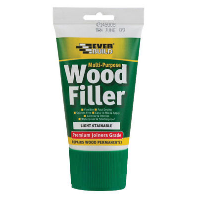 Everbuild MPWOODPINE2 Multi-Purpose Premium Joiners Grade Wood Filler Pine 250ml