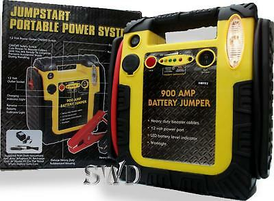 Portable power station booster jump start 900A 12v new Heavy duty car boat van