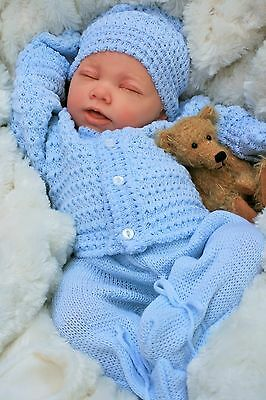 Reborn Baby Boy Doll  Knitted Spanish Out Fit E113 - Butterfly Babies