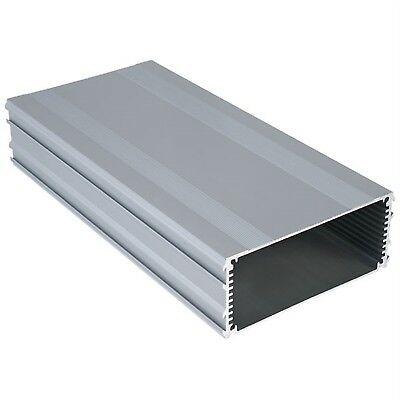 Evatron RECS220 Extruded Aluminium Enclosure 220x109x45.5mm Accept PCB 100x220mm