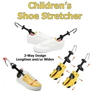 PAIR Child Shoe Stretchers - Stretch Kids Tight Shoes - Expand Width or Length