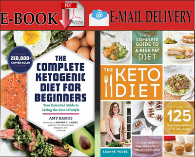 The Complete Ketogenic Diet for beginners & The Keto Diet:The Complete Guide....