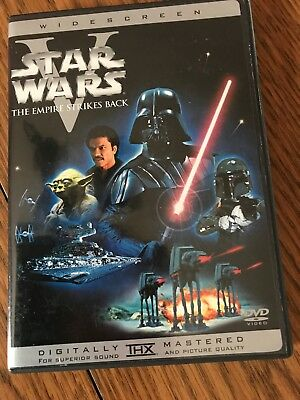 Star Wars V 5 The Empire Strikes Back DVD (1) Disc Remastered Version WIDESCREEN