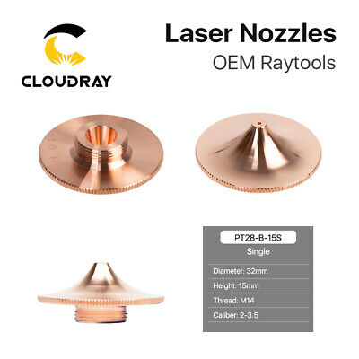 Fiber Laser Nozzle Single Layer Dia.32mm Height 15mm for Cutting Head