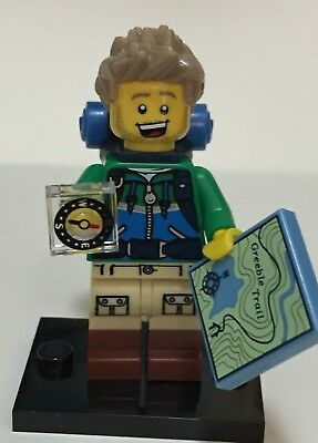 New LEGO MINIFIGURES SERIES 16 HIKER HAIR  X 1,PARTS