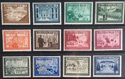 Germany Third Reich 1939 Postal Employees' & Hitler's Cultural Fund MLH