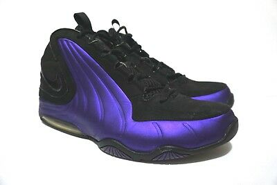 ef0e530aed Nike Air Max Wavy Basketball Shoe Men's size 13 Black and Purple 407703-004
